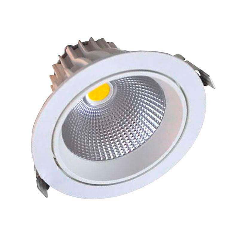 Downlight Led Round COB basculante 16W, Blanco frío